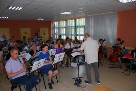 Repetition en big band